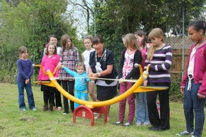 Grand Opening of The Glebe Road Play Area